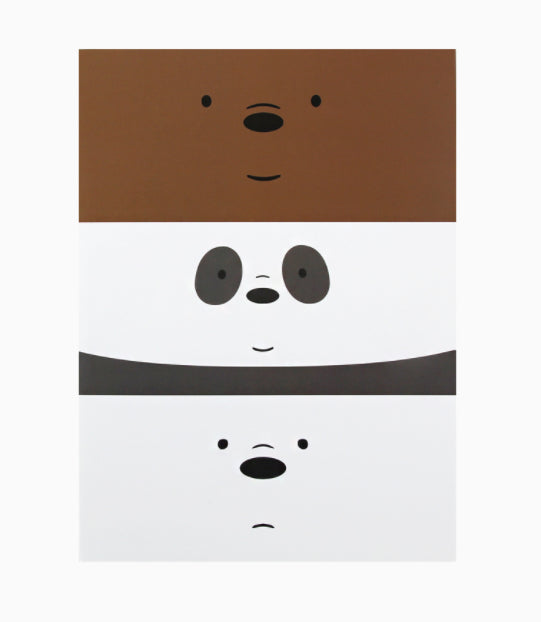 We Bare Bears -  Face Note - Triplets