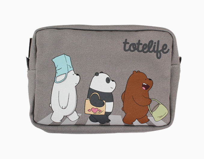 We Bare Bears -  Cotton Pouch