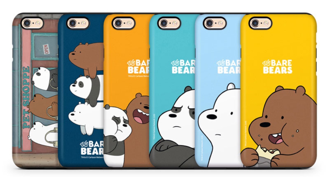 finest selection 20896 3fd50 We Bare Bears - Bumper Case - Iphone X