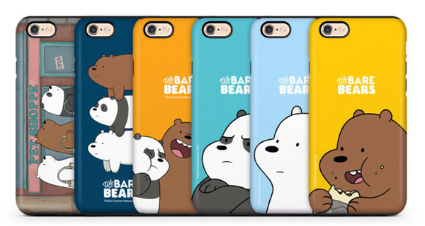 We Bare Bears - Bumper Case - Iphone X