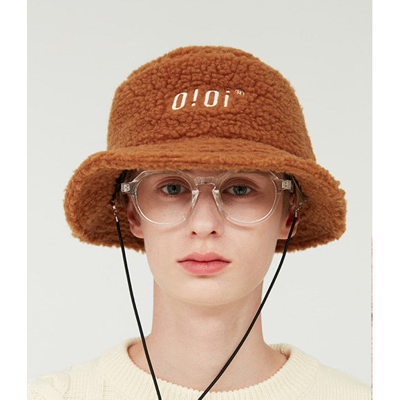 5252 by O!Oi - Shearling Bucket Hat