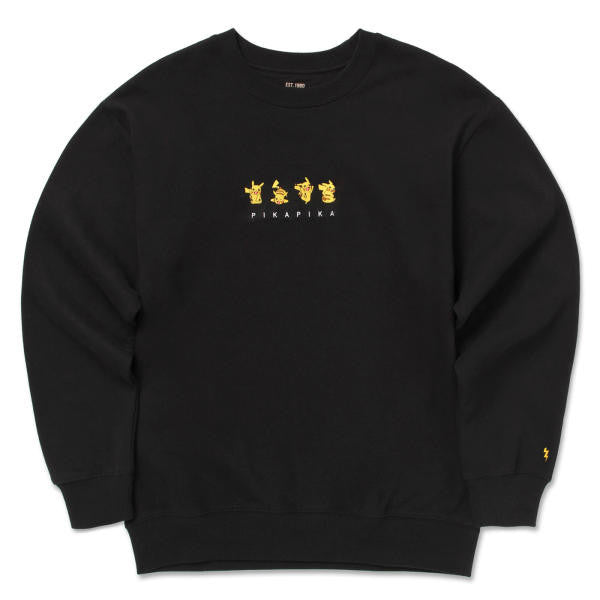 SPAO X Pokemon Crewneck Sweater Old Design - Crewneck - Harumio