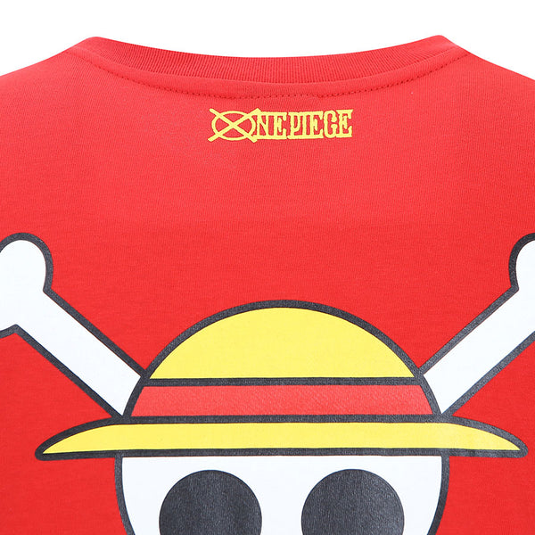 One Piece x Skechers - Men's Polo T-shirt (Red)