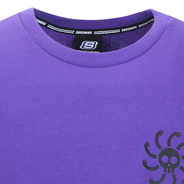 One Piece x Skechers - Men's Polo T-shirt (Purple)