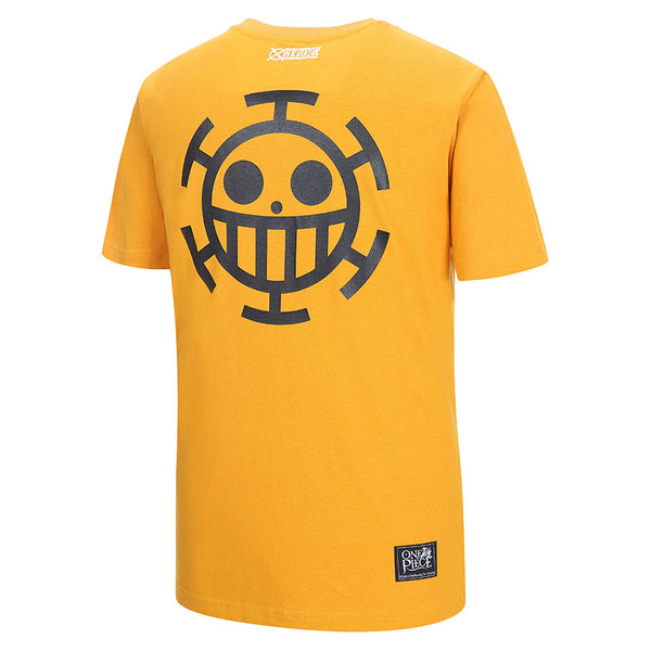 One Piece x Skechers - Men's Polo T-shirt (Yellow)