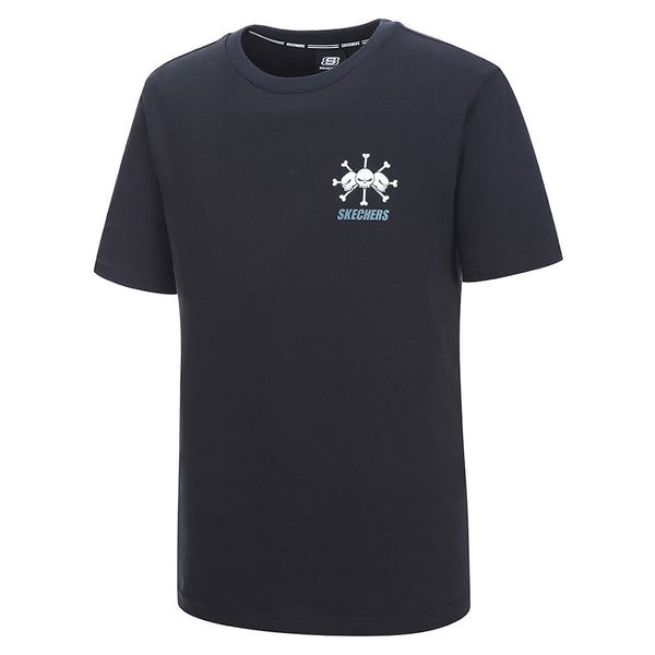 One Piece x Skechers - Men's Polo T-shirt (Black)