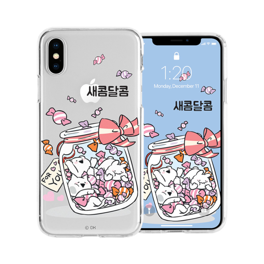 cheap for discount 65349 eca5d Overaction Rabbit - Clear Jelly Phone Case - Sweet and Sour