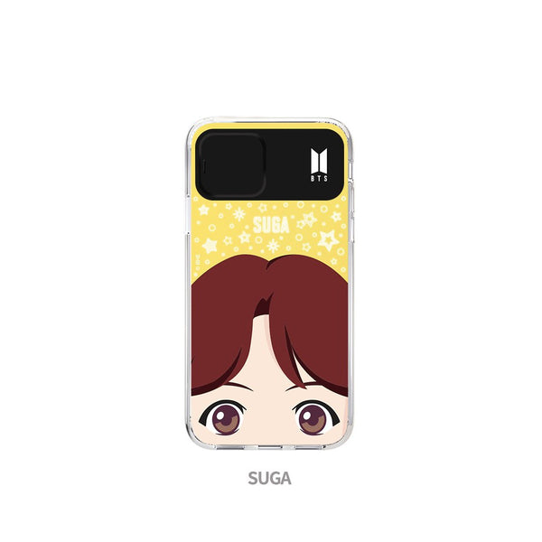 BTS - Full Face Light Up Phone Case
