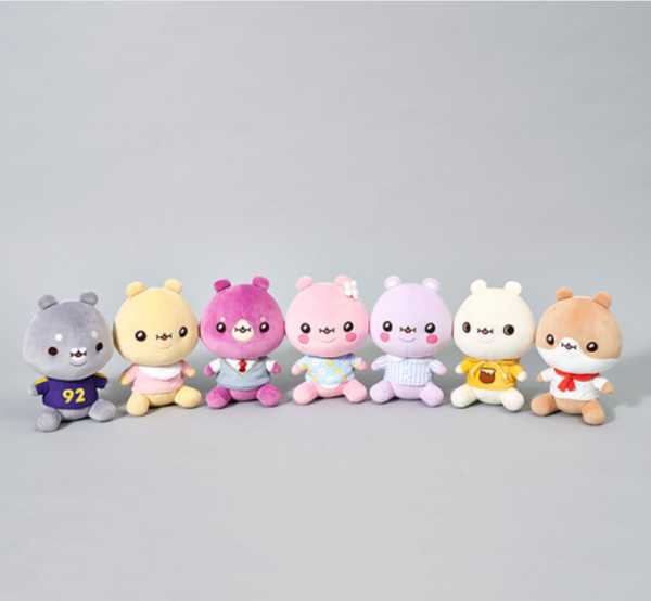 TWOTUCKGOM x Monsta X - Costume Sitting Plush
