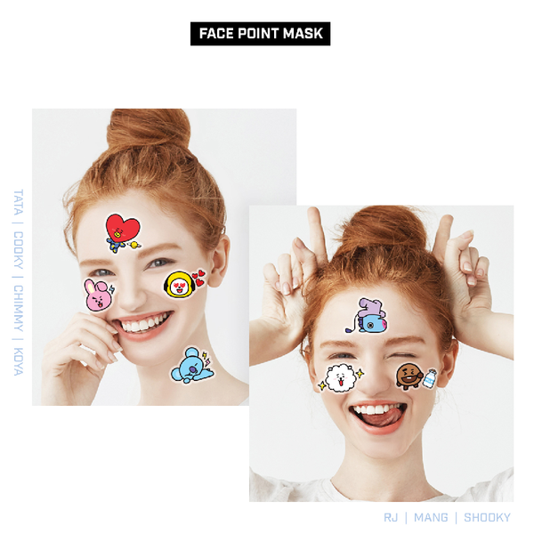 Mediheal x BT21 - Face Point Mask - Shooky
