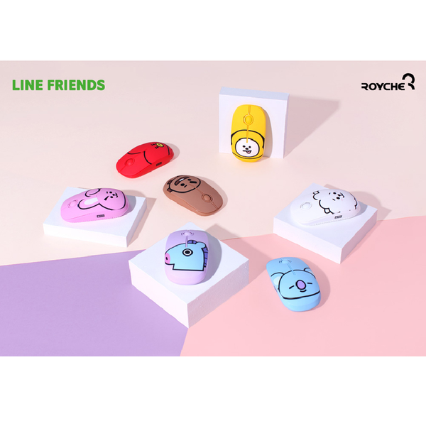 BT21 x Royche - Wireless Silent Mouse - Tata