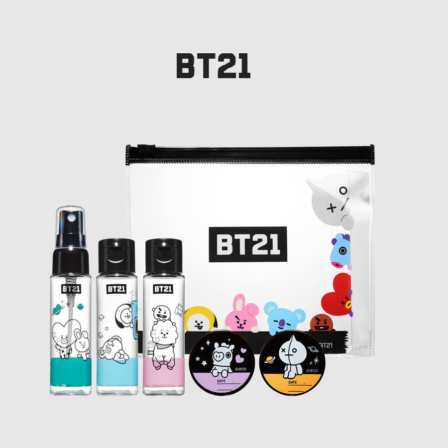 Olive Young x BT21 - Cosmetic Miner Kit