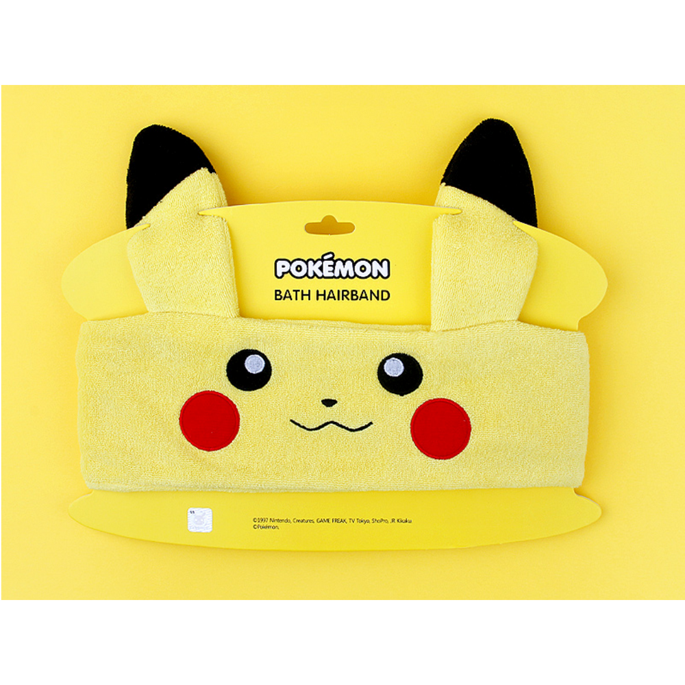 Pokemon - Bath Hairband - Pikachu