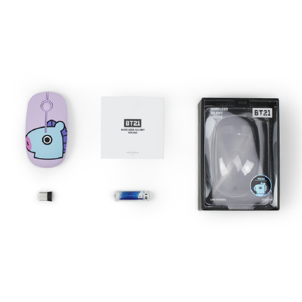 BT21 x Royche - Wireless Silent Mouse - Chimmy