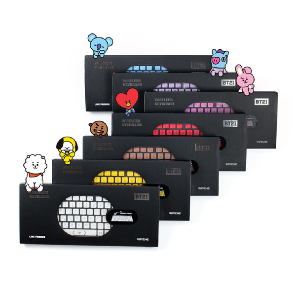 BT21 x Royche - Wireless Keyboard - Koya