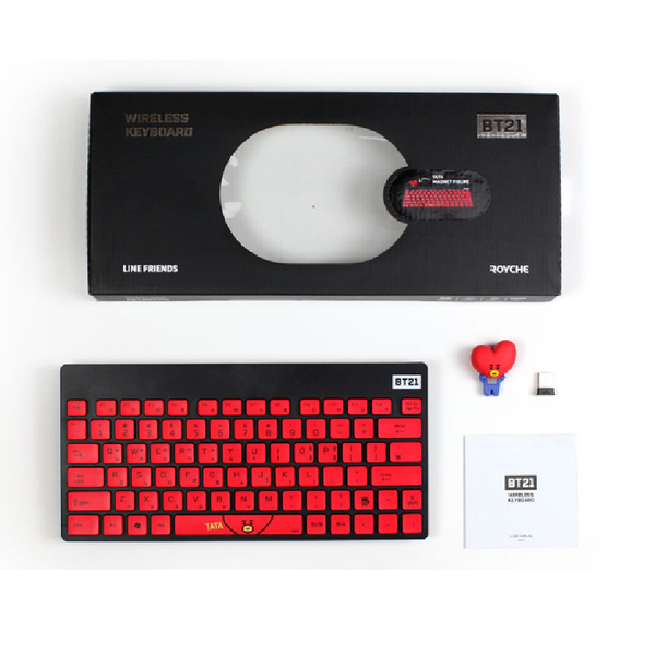 BT21 x Royche - Wireless Keyboard - Cooky