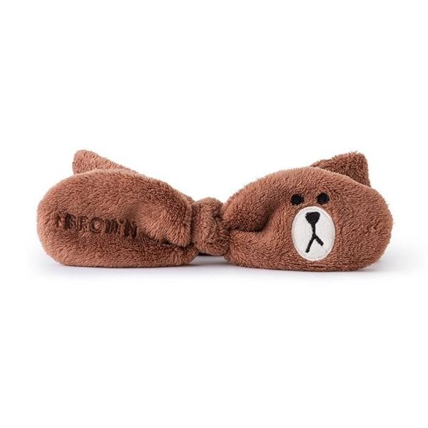 Line Friends - Official Merch - Face-Washing Hair Band