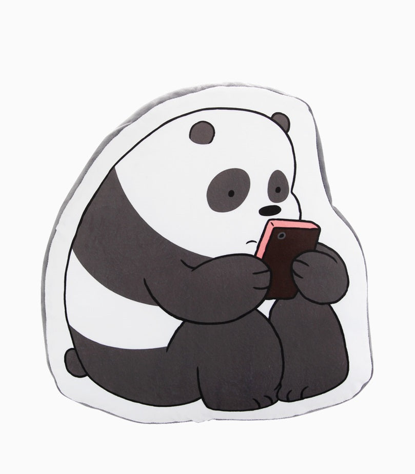 We Bare Bears -  Flat Cushion - Panda