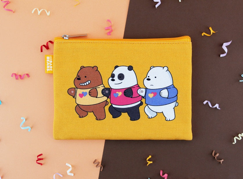 We Bare Bears -  Flat Pouch