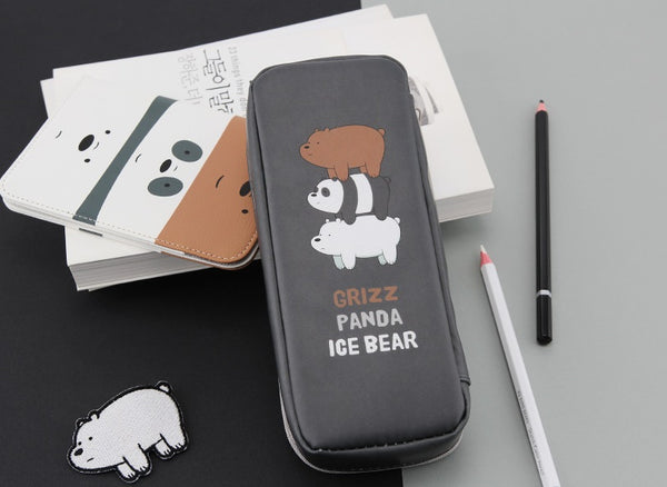 We Bare Bears - Pencilcase - Triple