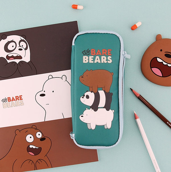 We Bare Bears - Pencilcase - Baby Triple