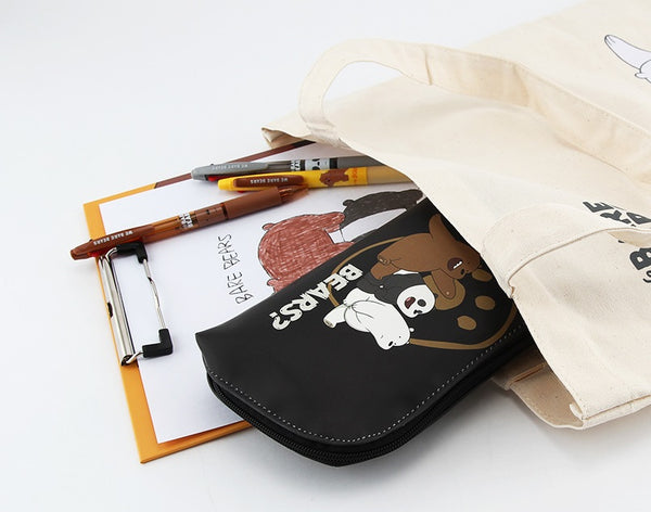 We Bare Bears - Round Pencil Case - Triplets