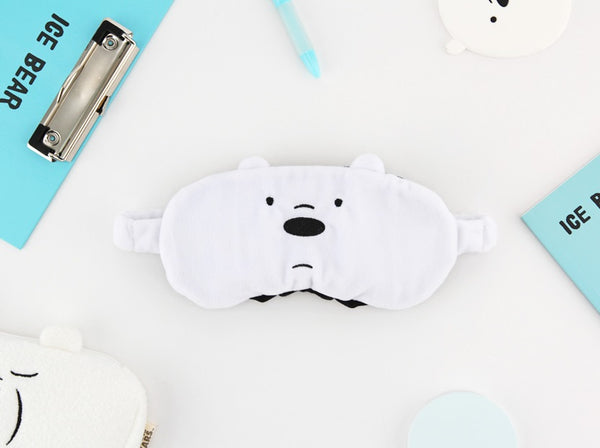 We Bare Bears - Sleeping Eye Patch - Ice Bear