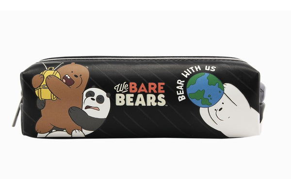 We Bare Bears -  Square Pencil Case - Bears with Us