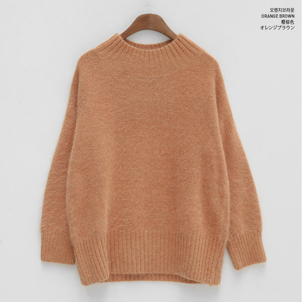 Chuu  - Human Peach Knit. Vol.7 - Sweater - Harumio