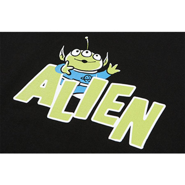 Mainbooth x Toy Story - Alien Tape T-shirt - Black