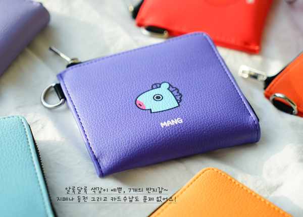 BT21 x Kumhong Fancy - PU Wallet