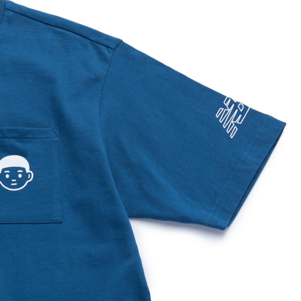 New Balance x Noritake - Pocket Boy T-shirt - Blue Dye