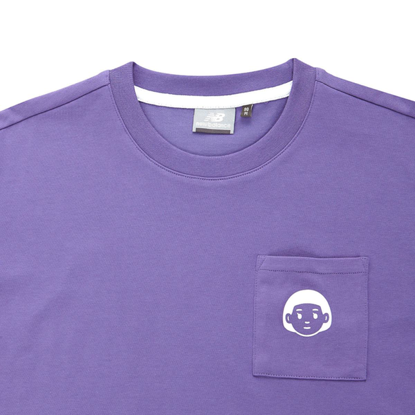 New Balance x Noritake - Pocket Girl T-Shirt - Purple