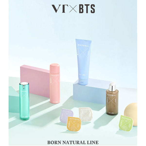 VT x BTS - Born Natural Watering Fit Cleanser