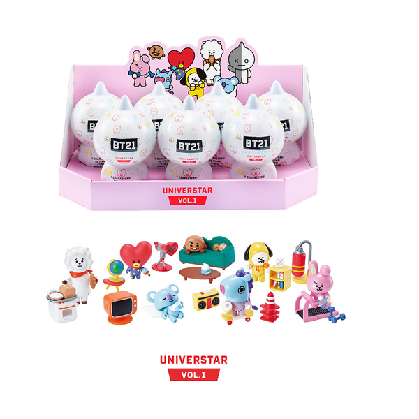 BT21 - Collectible Figure Blind Pack Vol.1 - Base Camp Theme