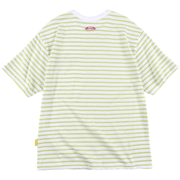 Mainbooth x Toy Story - Buzz Stripe T-shirt - Lime Stripe