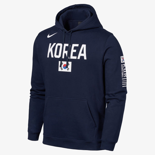 Nike - Korea Club Fleece Hoodie - Obsidian