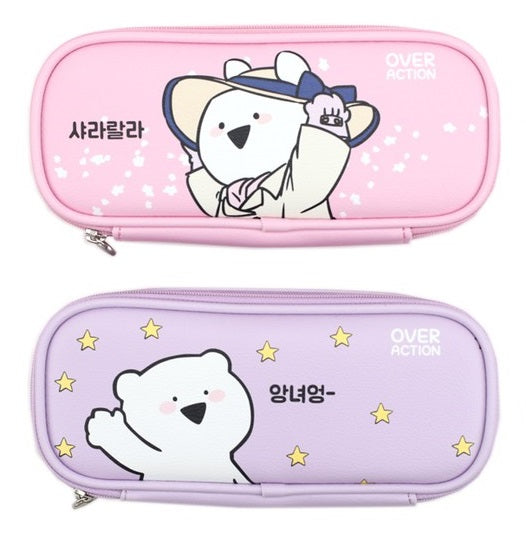 Overaction Bunny - Slim Pouch Pencil Case