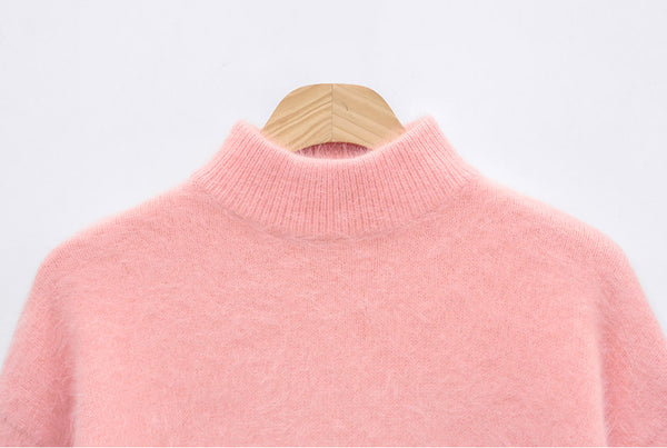 Chuu  -   Terry Angora One Piece vol.2 - Sweater - Harumio