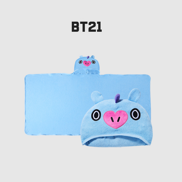 Olive Young x BT21 - Hooded Towel - Mang