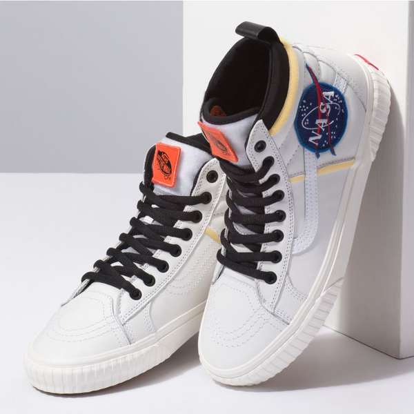 VANS x NASA - Space Voyager - SK8-Hi - True White