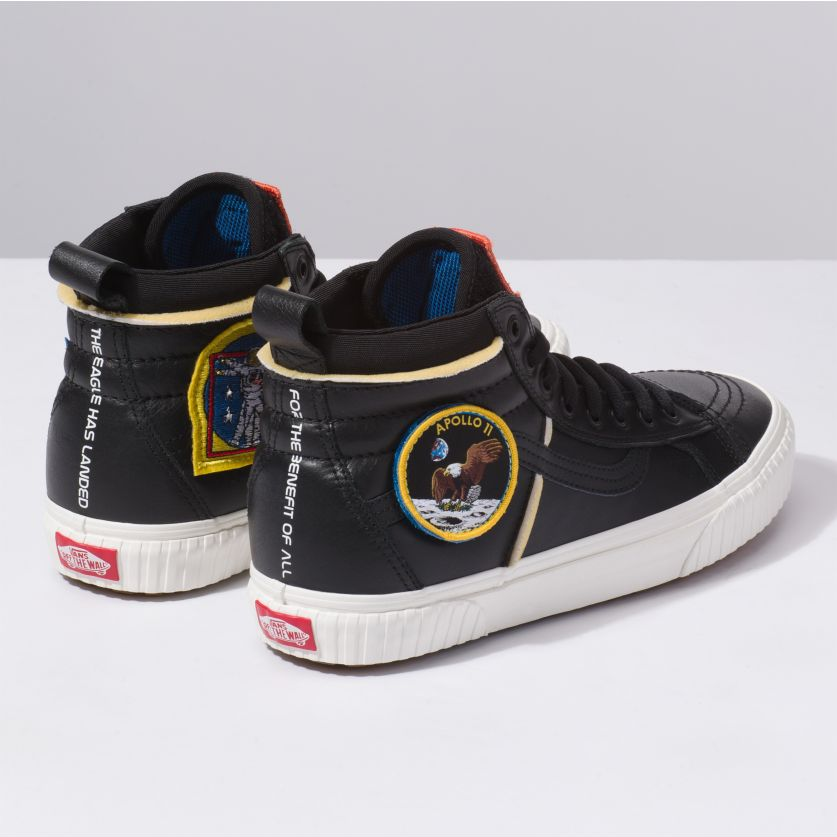 28c65dc5ee4999 VANS x NASA - Space Voyager - SK8-Hi - Black
