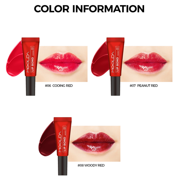 Moolda - Lip Bond Red Edition