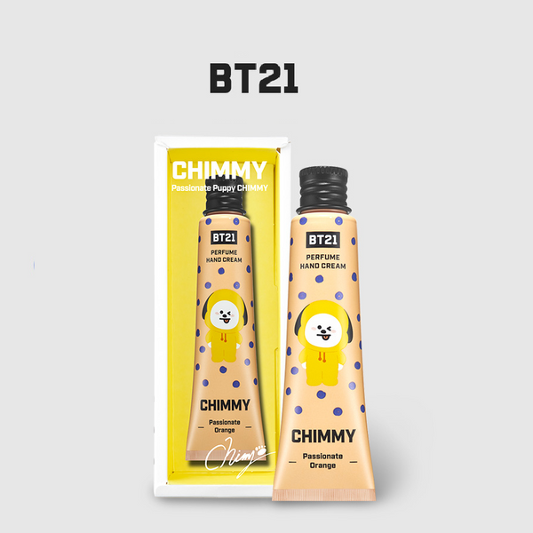 Olive Young x BT21 - Perfume Hand Cream - Passion Orange - Chimmy