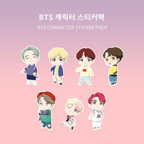 BTS - Character Sticker Pack (Weply Event)