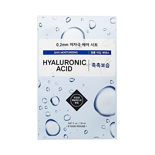 Etude House 0.2 Therapy Air Mask (Hyaluronic Acid) - Mask, Skin, Skincare - Harumio