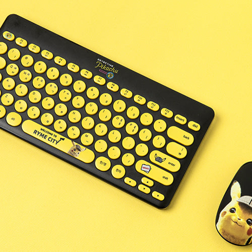Pokémon - Wireless Keyboard - Detective Pikachu