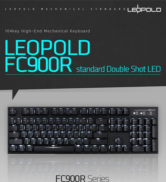 Leopold FC900R Standard Double Shot LED