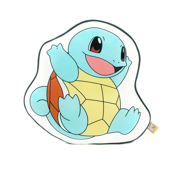 Pokemon - Character Print Cushion - Squirtle