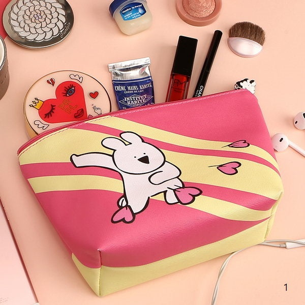 Overaction Bunny - Triangle Pouch